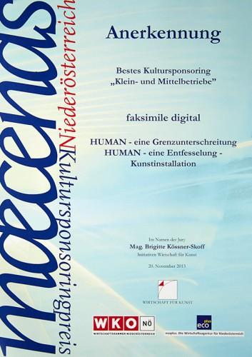 Maecenasurkunde_2013